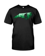 North Carolina Bigfoot  Classic T-Shirt front