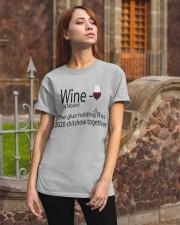wine  Classic T-Shirt apparel-classic-tshirt-lifestyle-06