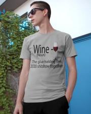 wine  Classic T-Shirt apparel-classic-tshirt-lifestyle-17