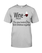 wine  Classic T-Shirt front