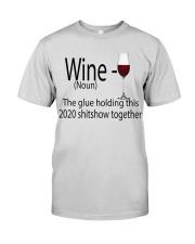 wine  Premium Fit Mens Tee thumbnail