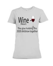 wine  Premium Fit Ladies Tee thumbnail