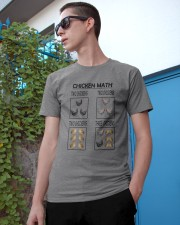 CHICKEN MATH Classic T-Shirt apparel-classic-tshirt-lifestyle-17