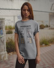 CHICKEN MATH Classic T-Shirt apparel-classic-tshirt-lifestyle-18