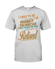 I USED TO BE PHARMACY TECHNICIAN Premium Fit Mens Tee thumbnail