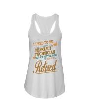I USED TO BE PHARMACY TECHNICIAN Ladies Flowy Tank thumbnail