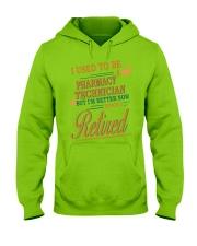 I USED TO BE PHARMACY TECHNICIAN Hooded Sweatshirt thumbnail