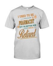 I USED TO BE PHARMACIST Premium Fit Mens Tee thumbnail
