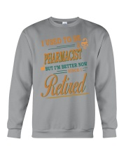 I USED TO BE PHARMACIST Crewneck Sweatshirt thumbnail