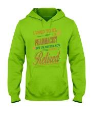 I USED TO BE PHARMACIST Hooded Sweatshirt thumbnail
