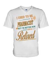 I USED TO BE PHARMACIST V-Neck T-Shirt thumbnail