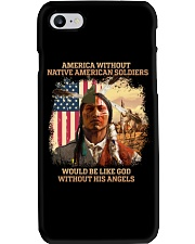 Native American Soldier Phone Case thumbnail