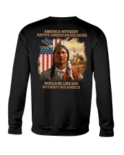 Native American Soldier Crewneck Sweatshirt thumbnail