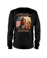 Native American Soldier Long Sleeve Tee thumbnail