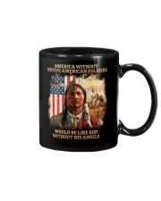 Native American Soldier Mug thumbnail