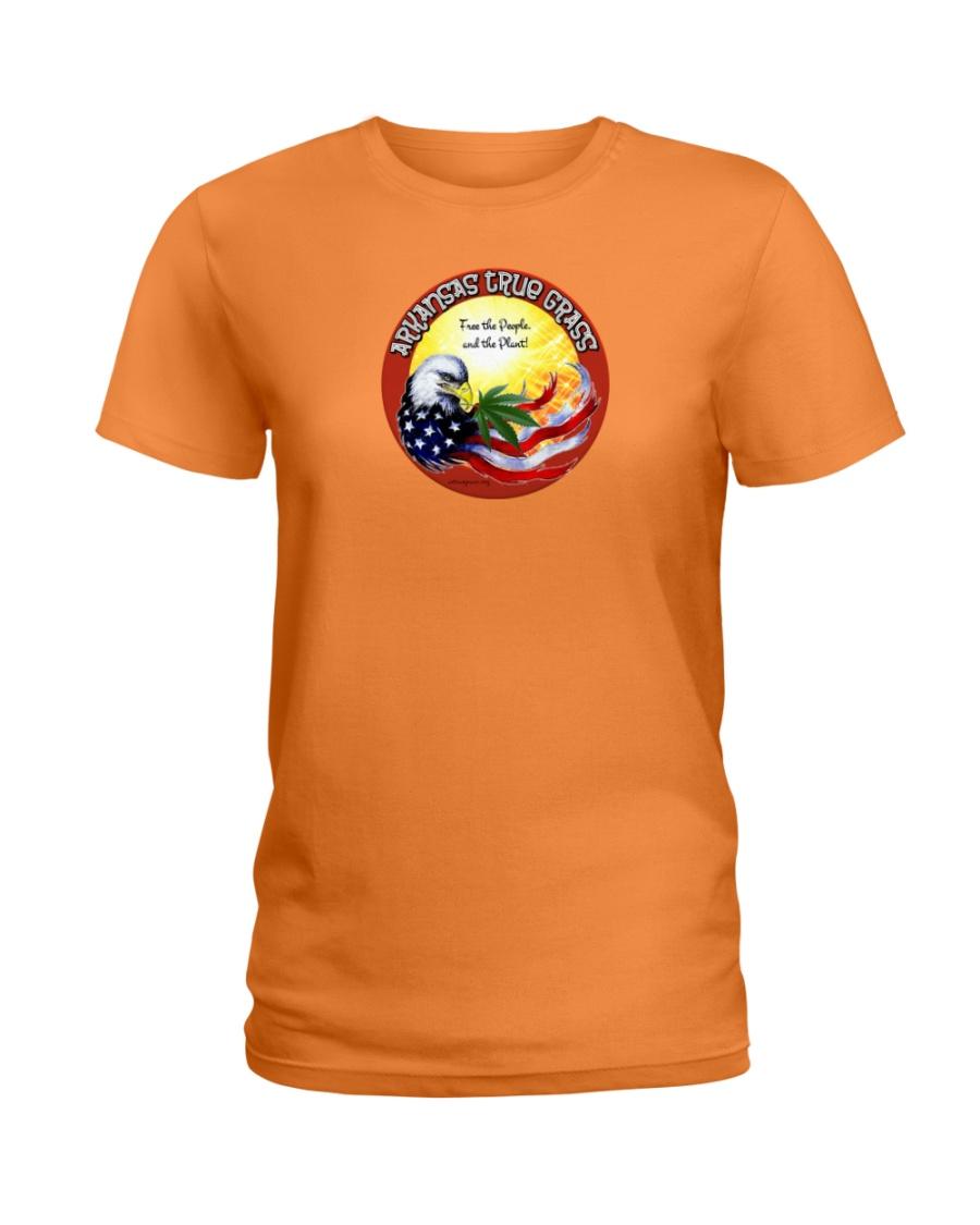 Arkansas True Grass Ladies T-Shirt