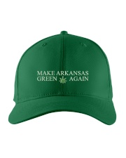 Arkansas True Grass Embroidered Hat front