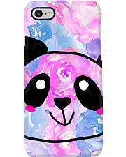 Cotton Candy Rose Panda Phone Case i-phone-7-case