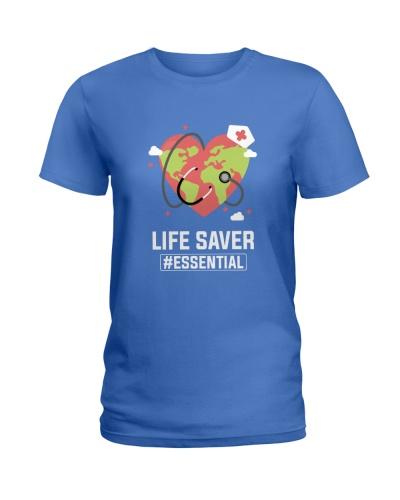 Nurse Life Saver Covid 19 Essential