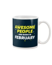 Awesome People Are Born In february Mug thumbnail