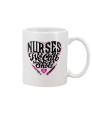 Nurses We Call the Shots Mug thumbnail