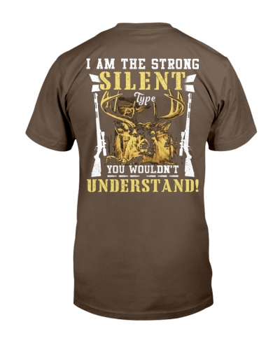 LIMITED EDITION- Hunter-Strong silent type