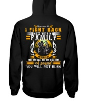 LIMITED EDITION- Hunter-A sound you will not hearB Hooded Sweatshirt thumbnail
