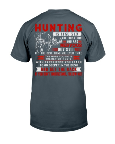 LIMITED EDITION- Hunter-Hunting is like sexx