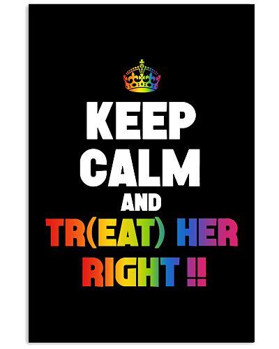TREAT HER RIGHT LGBT SHIRT GAY SISTER PRIDE