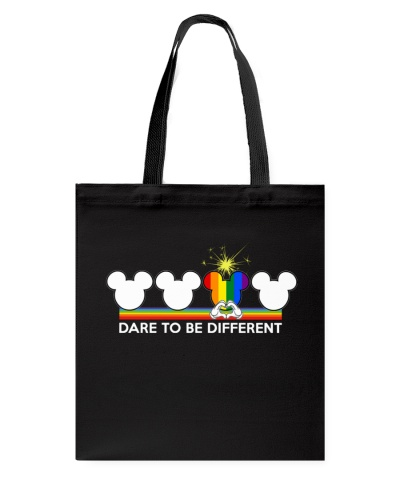 DARE TO BE DIFFFERENT  LGBT SHIRT PRIDE SHIRT