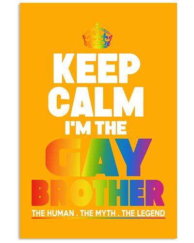GAY BROTHER PRIDE -  LGBT SHIRT GAY SHIRT
