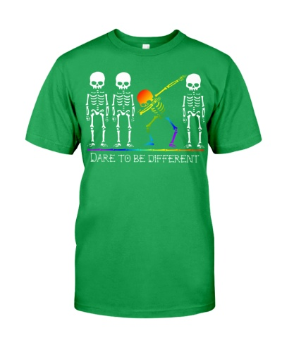 DARE TO BE DIFFERENT -  PRIDE SHIRT LGBT