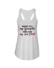 Nobody test my gangsta more than my 2nd child Ladies Flowy Tank thumbnail