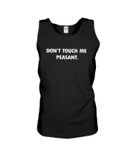 Don't touch me peasant Unisex Tank thumbnail