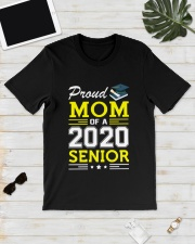 Proud Mom Of A 2020 Senior Graduation Classic T-Shirt lifestyle-mens-crewneck-front-17