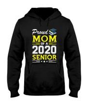 Proud Mom Of A 2020 Senior Graduation Hooded Sweatshirt thumbnail