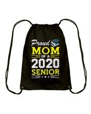 Proud Mom Of A 2020 Senior Graduation Drawstring Bag thumbnail