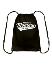 Promoted to Mommy 2020 First Mothers Day Drawstring Bag thumbnail