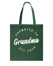 Promoted To Dog Grandma 2020 Mothers Day Tote Bag thumbnail