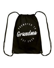 Promoted To Dog Grandma 2020 Mothers Day Drawstring Bag thumbnail