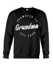 Promoted To Dog Grandma 2020 Mothers Day Crewneck Sweatshirt thumbnail