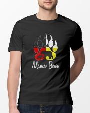 Mama Bear Plaid O-Neck Classic T-Shirt lifestyle-mens-crewneck-front-13