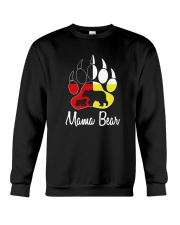 Mama Bear Plaid O-Neck Crewneck Sweatshirt thumbnail