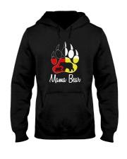 Mama Bear Plaid O-Neck Hooded Sweatshirt thumbnail