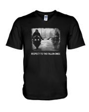 Respect to the fallen ones  V-Neck T-Shirt thumbnail
