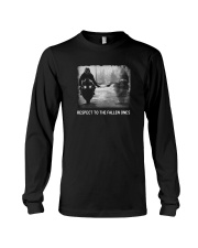Respect to the fallen ones  Long Sleeve Tee thumbnail
