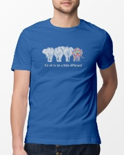 Elephant It's ok to be a little different elephant Classic T-Shirt lifestyle-mens-crewneck-front-13