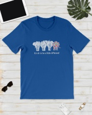 Elephant It's ok to be a little different elephant Classic T-Shirt lifestyle-mens-crewneck-front-17