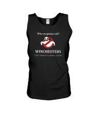 Who ya gonna call Winchesters I ain't afraid of no Unisex Tank thumbnail