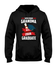 Proud Grandma Of A 2019 Graduate Hooded Sweatshirt thumbnail
